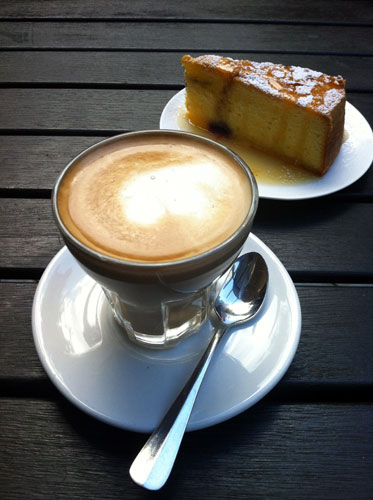 Australia! Your cake and coffee cannae be beaten!