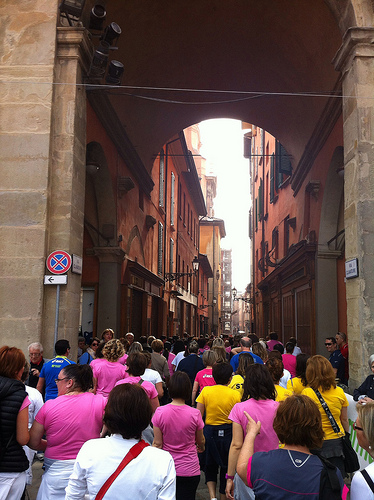 Bologna is such a beautiful city