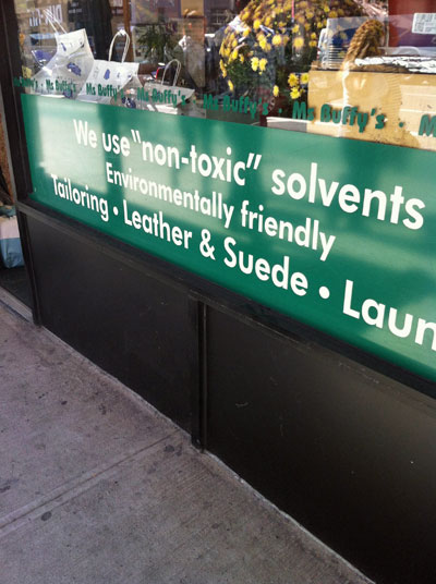 """""""Non-toxic in NYC"""