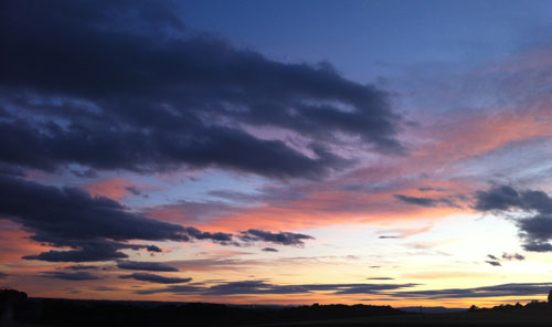 Will miss these Fife sunsets