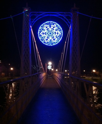 River Ness pedestrian bridge