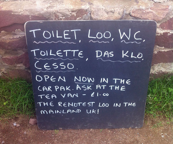 The remotest loo