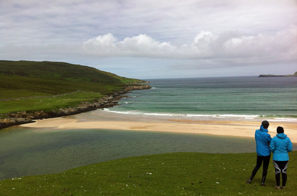 One of the bays on Cape Wrath