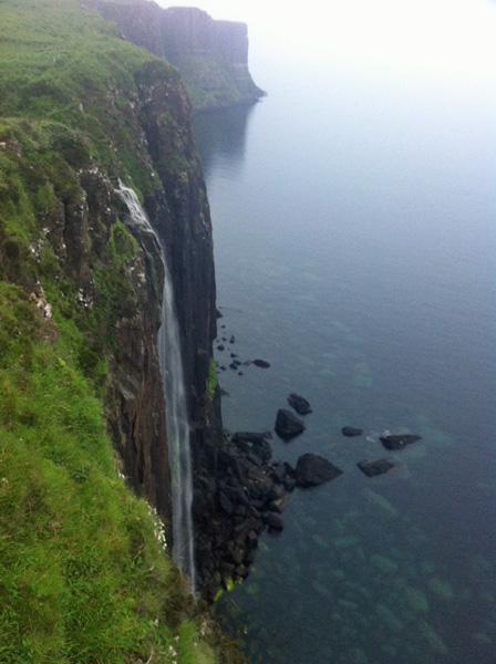 Kilt Rock in the background