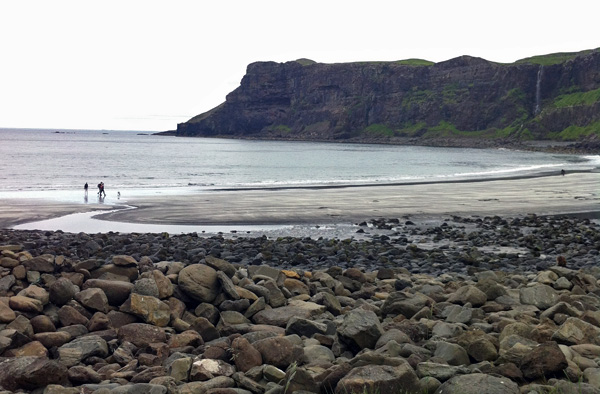 Shit photo of beautiful Talisker Bay