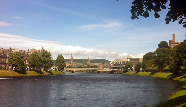 Sunshine on Inverness