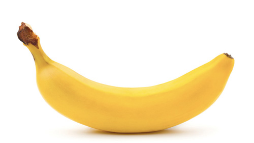 A smiley banana