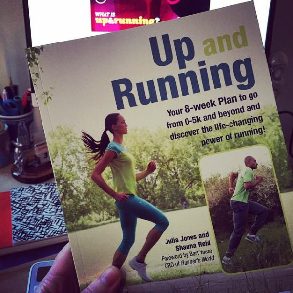 UP AND RUNNING 5k beginners book