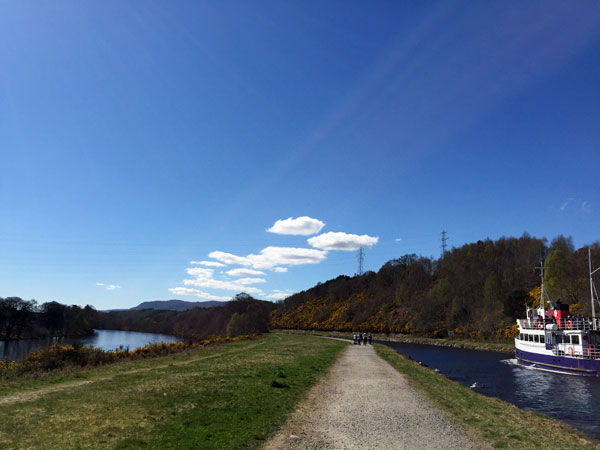 River Ness meets Caledonian Canal