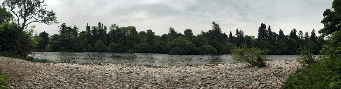 River Ness panorama