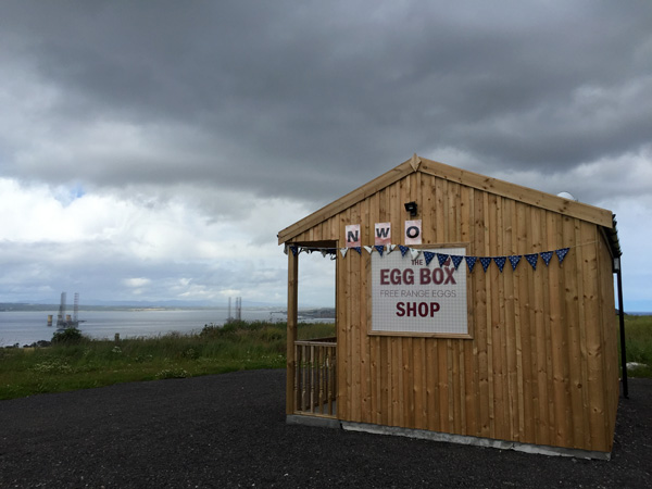 The Egg Box Shop, Cromarty