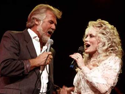 The wonderous Kenny and Dolly