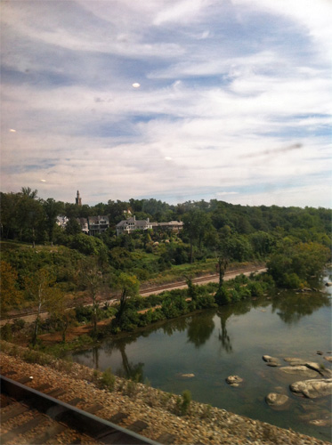 I forget where in Virginia