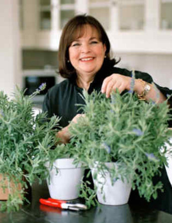 Ina in the Rosemary