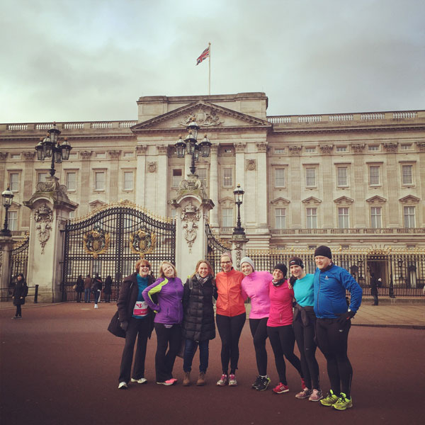 Buckingham Palace meetup for Up & Running