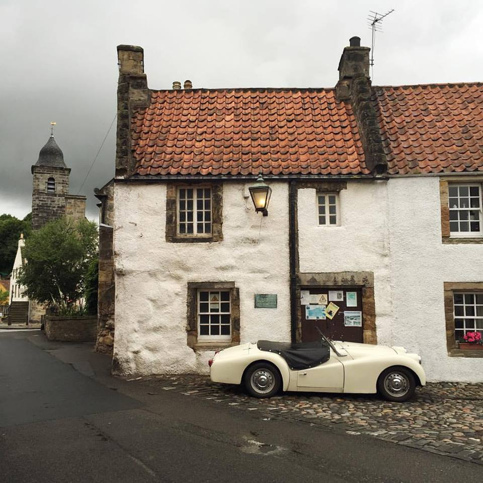 The beautiful village of Culross