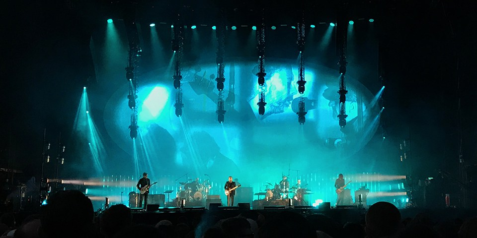 Radiohead at TRSMT Glasgow, July 2017