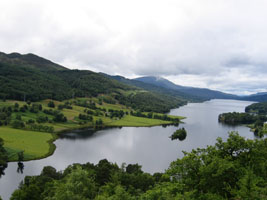 Queen's View near Pitlochry, Perthshire