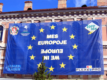 Lithuania celebrates joining the EU - Vilnius, 7 September 2004